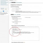 Google Analytics Code kopieren und speichern