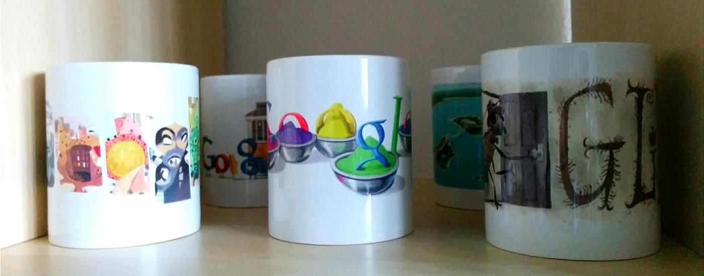 Die nächsten Google Doodle Tassen sind da