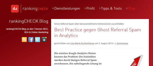 Blog von Ranking-Check