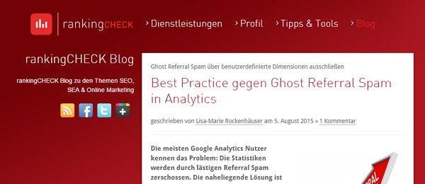 Blog von Ranking-Check
