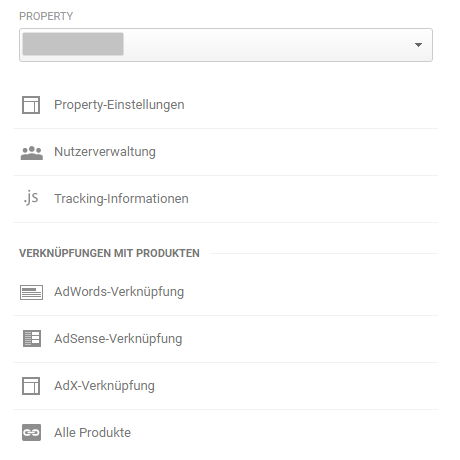 Adwords Verknüpfung in Google Analytics