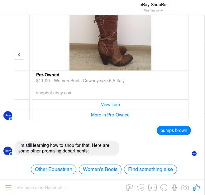 Ebay Shopbot im Test.